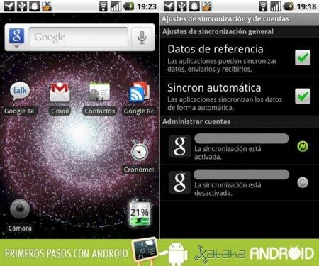 Primeros pasos con Android: Gestión de agenda y sincronización