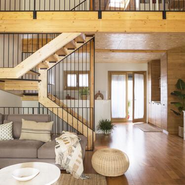 El primer proyecto de bio-interiorismo de la interiorista Pia Capdevila para completar una casa construida con criterios Passivhaus o de biocontrucción