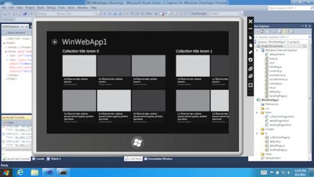 Las aplicaciones en Windows 8: tecnologías web y la Store