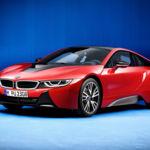 BMW i8 Protonic Red Edition: un toque de alegría para el deportivo híbrido de Múnich
