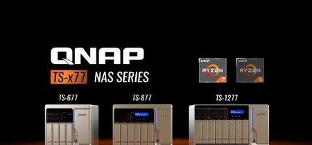 QNAP lanza el NAS TS-x77 con procesador AMD Ryzen 7 1700