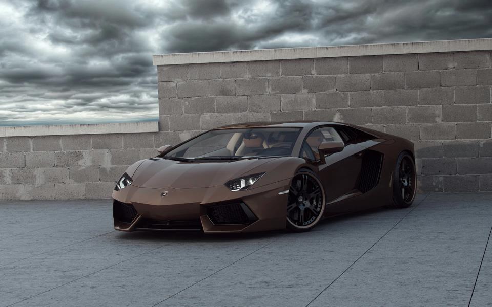 Foto de Lamborghini Aventador Chocolate LP777-4 por Wheelsandmore (1/6)