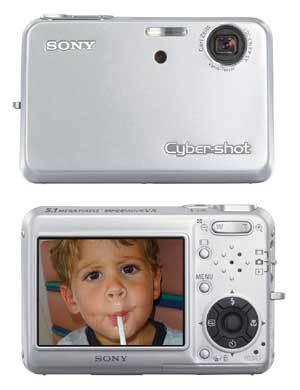 Sony Ciber-Shot T3: una cámara compacta y elegante