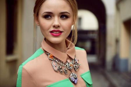 Tendencias low-cost Primavera-Verano 2014: ¡Toma nota de estos preciosos maxi collares!
