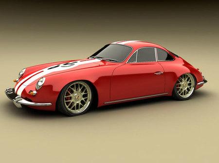 Porsche Panamera 1965 Design Concept by Bo Zolland