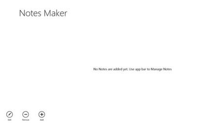 Notes Maker+ app