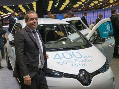"""""""Será en 2017 cuando veremos un aumento importante en el número de coches eléctricos"""", Eric Feunteun de Renault"""