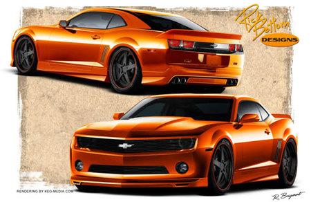 Otro Chevrolet Camaro para el SEMA Show, esta vez de Rick Bottom Designs