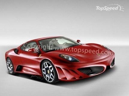 Recreación del Ferrari F450 2010
