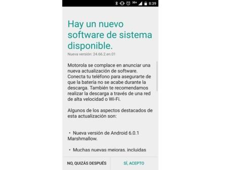 Update Moto Maxx