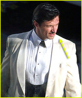 Hugh Jackman en el set de 'Australia'
