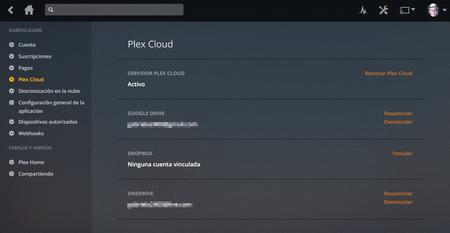 Cloud Sync Plex
