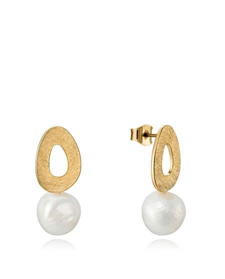 13 románticos pendientes con perlas para hacer deslumbrar a mamá en su día