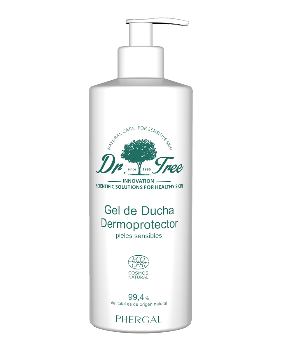 Gel de Ducha Dermoprotector Pieles Sensibles Dr.Tree