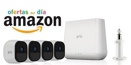 Ofertas del día en Amazon para toda la gama de videovigilancia ARLO PRO de Netgear