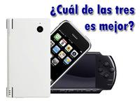 Nintendo DSi vs Sony PSP-3000 vs Apple iPhone 3G, ¿Cuál es mejor?