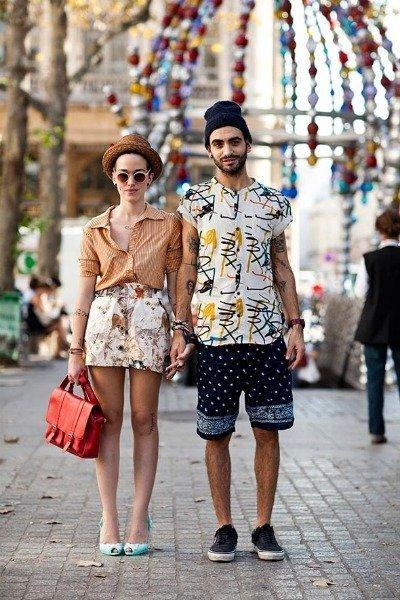 Moda para hombres: el estilo de la pareja