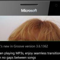 Groove Música ahora ofrece reproducción sin pausas entre canciones, pero solo en el móvil