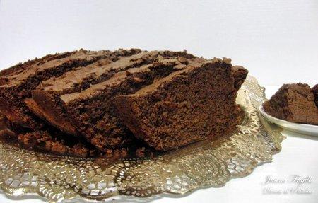 Receta de bizcocho casero de chocolate