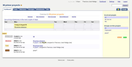 Teamness, gestión colaborativa de proyectos