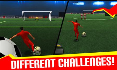 Football Flick Champions 14: Soccer Real League 3D