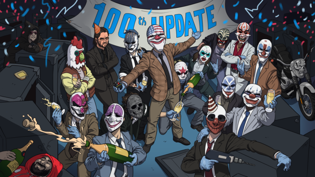 Payday 2 Actualizacion 100