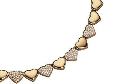 Un lujo de Navidad: gargantilla de corazones de Chopard