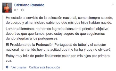 Cristiano Facebook