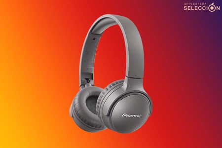 Los auriculares Bluetooth 5.0 Pioneer S6 en gris tienen ANC y batería de 30 horas por 66,13 euros en Amazon, su mínimo histórico