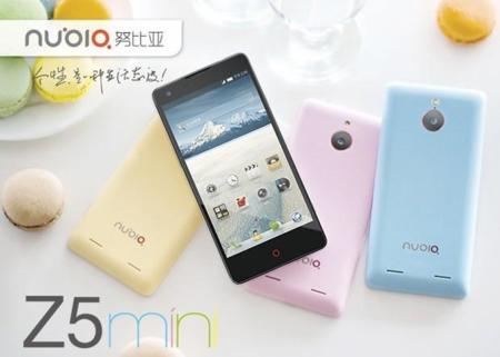 ZTE Nubia Z5 Mini se hace oficial en China