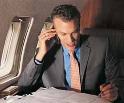 Posible uso del móvil en los vuelos de Iberia