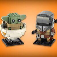 LEGO BrickHeadz de 'The Mandalorian' disponible en Amazon México por 335 pesos: con 295 piezas y en su precio más bajo histórico