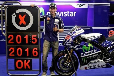 MotoGP 2015: Jorge Lorenzo firma dos años más con Yamaha