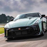 El Nissan GT-R 50 by Italdesign de producción en serie se deja ver en pista y confirma su precio de 25 MDP