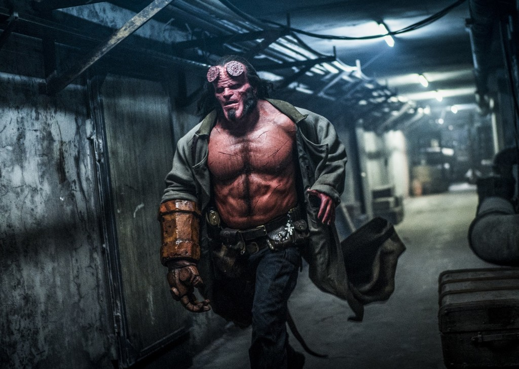 'Hellboy': here is the first epic trailer for the new film without Guillermo del Toro or Ron Perlman