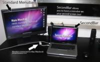 SecondBar, añade una segunda barra de menú al segundo monitor