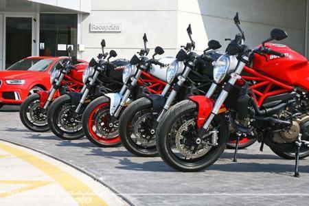 Ducati Monster 821, presentación prensa