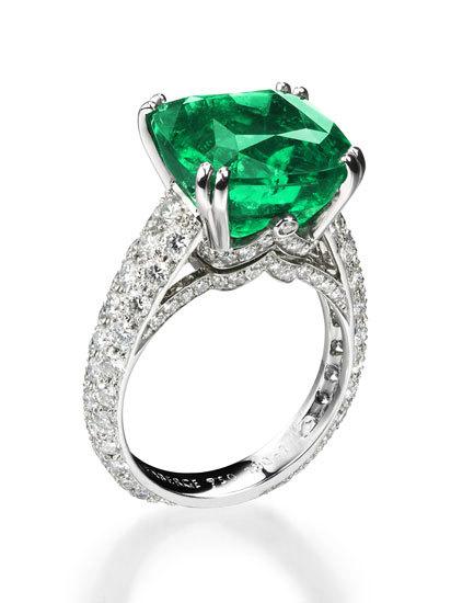 Faberge Vera Emerald Ring