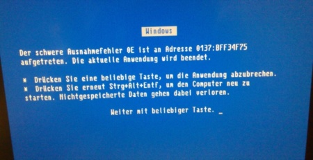 BSOD en Windows 95