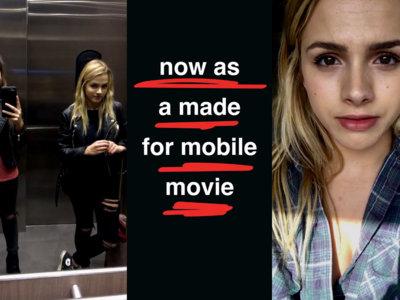 Luces, Snapchat y acción: Stickhouse es la primera película rodada enteramente con la app