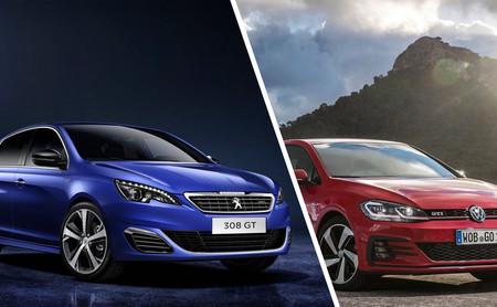 Peugeot 308 GT vs. Volkswagen Golf GTI: La esencia es la misma; la interpretación, muy distinta