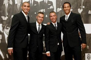 Dsquared2 vuelve a vestir a la Juventus de Turín