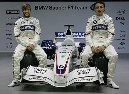 Heidfeld y Kubica: la pareja de BMW para 2008