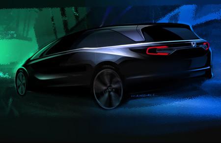 La nueva Honda Odyssey estará en el Auto Show de Detroit... y así la dibujan los niños