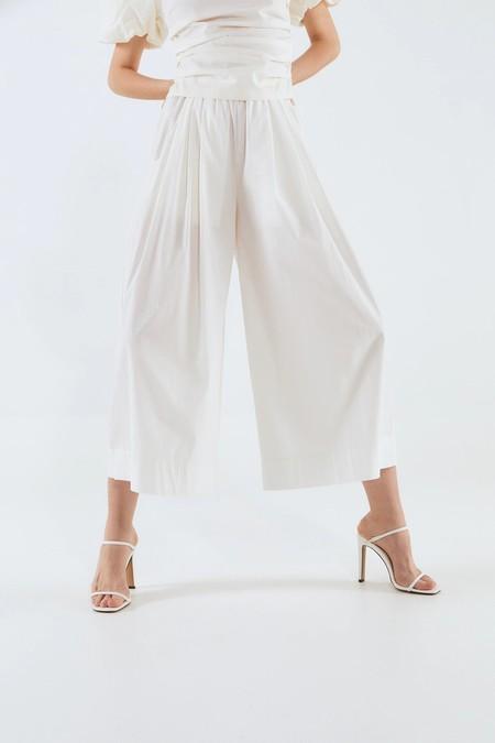 Pantalones Verano 2020 Blanco 02