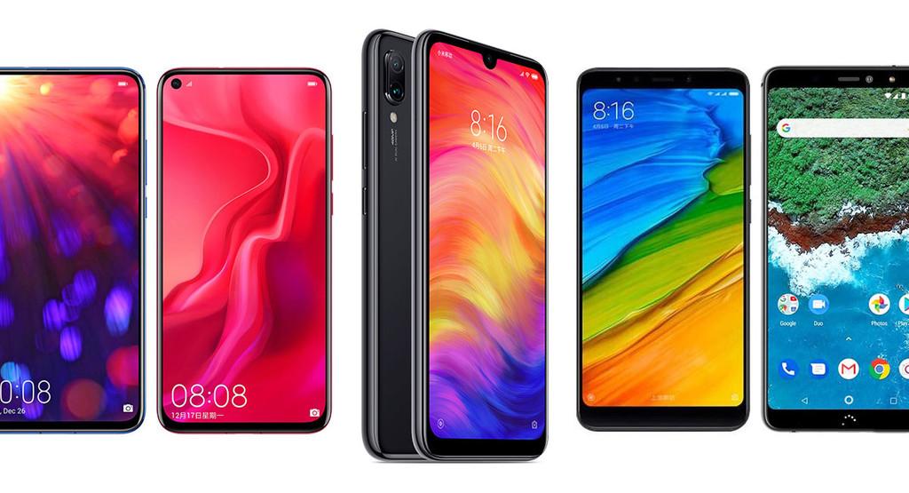 Redmi Note 7 contra Huawei℗ Nova 4, Honor V20, Xiaomi℗ Mi A2, Nokia℗ 8.1 y el resto de su competencia en Android
