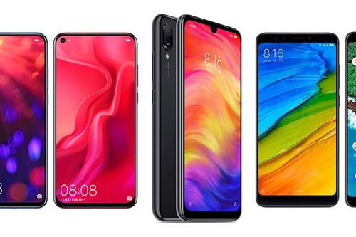 Redmi Note 7 contra Huawei Nova 4, Honor V20, Xiaomi Mi A2, Nokia 8.1 y el resto de su competencia en Android