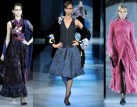 Giorgio Armani en la Semana de la Moda de Milán Otoño/Invierno 2008/2009