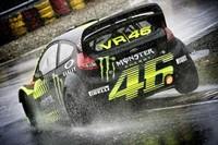 Valentino Rossi acaba segundo en el Monza Rally Show 2013