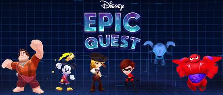 Así es Disney Epic Quest, el nuevo juego de Disney para Android que pronto llegará a Google Play